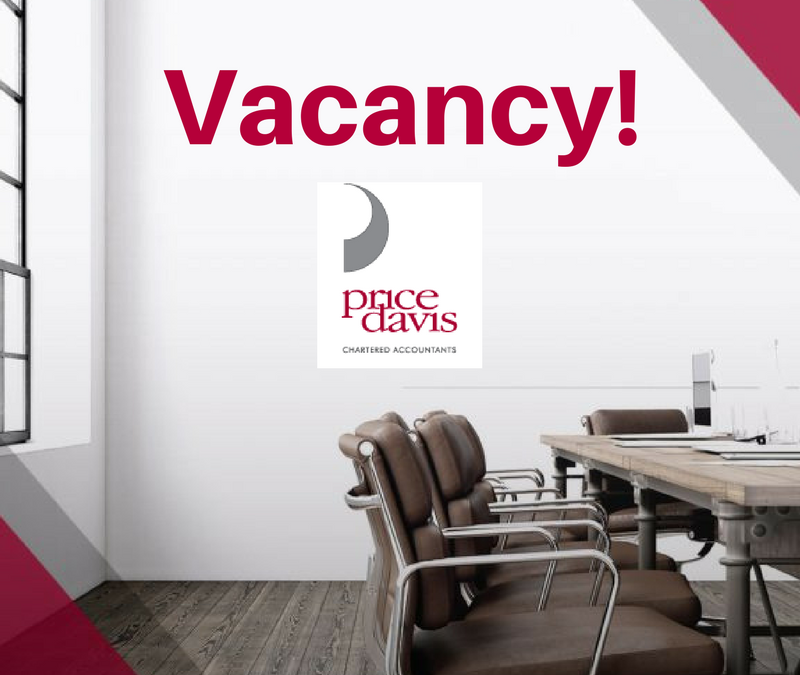 Accounts Manager Vacancy – Price Davis