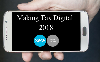 Making Tax Digital – The Updated 2018 Timeline