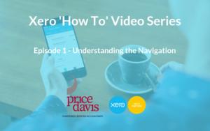 Price Davis Accountants in Stroud Xero 'How To' Navigation Blog