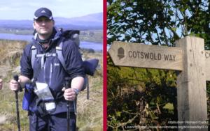 Alistair's Cotswold Way Challenge Blog Price Davis Accountants Stroud