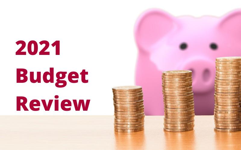 2021 Budget Breakdown